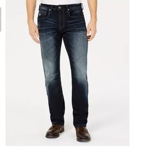 Buffalo David Bitton Slim Straight Stretch Jeans